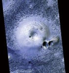 Bahenní sopka na Marsu?
