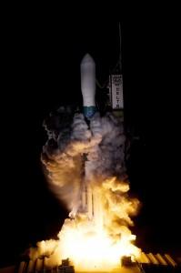 Start nosné rakety Delta II s družicí Kepler