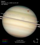 Saturn a jeho měsíce