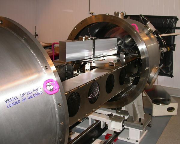 Spektrograf HARPS. Credit: ESO