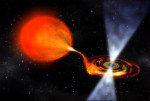 Milisekundový pulsar (kresba)