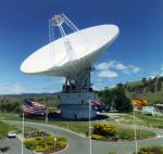 Jeden z radioteleskopů sítě Deep Space Network (DSN)