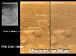 Povrch Saturnova měsíce Titan