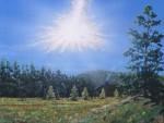 Tunguská katastrofa v představách malíře