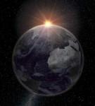 Země v představách malíře. Autor: Gabriel Perez Diaz, SMM, Instituto de Astrofisica de Canarias