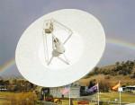 Radioteleskop, kterým bude zpráva odeslána, se nachází v Austrálii.