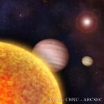 Exoplanety v představách malíře