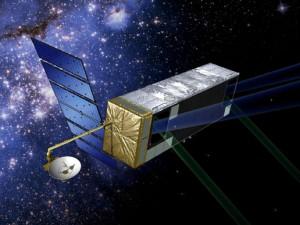 Kresba: kosmický dalekohled SIM