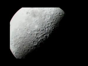 Před dopadem. Autor: NASA