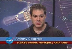 Z tiskové konference: Anthony Colaprete