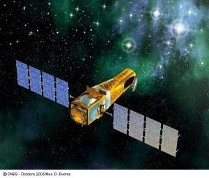 Kosmický dalekohled Corot. Autor: ESA