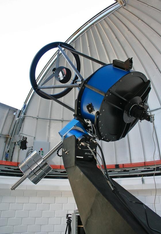 Dalekohled TRAPPIST. Autor: ESO