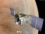 Kosmická sonda Venus Express. Credit: ESA