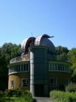 Univerzitní observatoř v Jeně s 90 cm velkým dalekohledem.