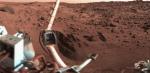 Povrch Marsu na snímku ze sondy Viking 1