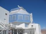 Dalekohledy Magellan na observatoři Las Campanas v Chile. Zdroj: Wikipedia