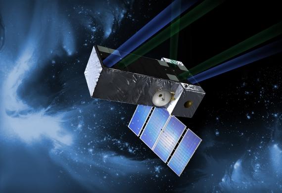 Kosmický dalekohled SIM. Credit: NASA
