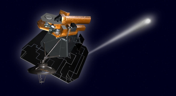 Sonda EPOXI (kresba). Credit: JPL, NASA