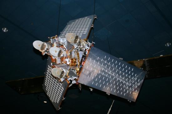 Družice Iridium. Autor: Cliff, Wikipedia