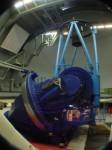 3,6 m dalekohled Evropské jižní observatoře v Chile. Credit: ESO