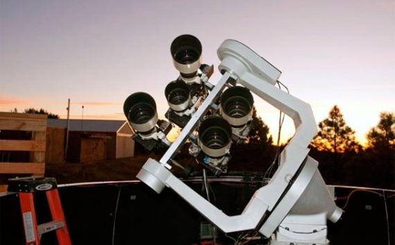 Kamery projektu Alsubai v Novém Mexiku. Zdroj: alsubaiproject.org