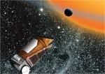 Kosmický dalekohled Kepler v představách malíře. Credit: NASA