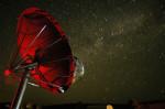 Jeden z radioteleskopů ATA.