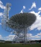 Radioteleskop Roberta C. Byrda v Green Bank. Credit: NRAO