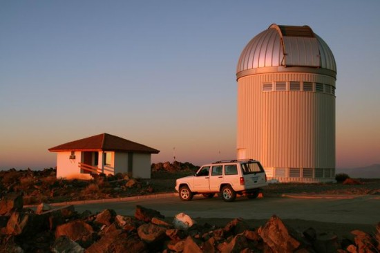 Dalekohled OGLE na Las Campanas v Chile. Autor:Krzysztof Ulaczyk, Wikipedia