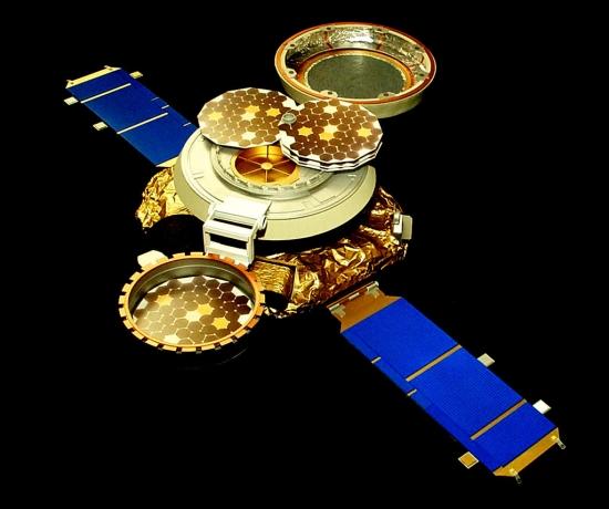 Kosmická sonda Genesis. Credit: JPL, NASA