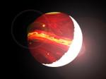 Horký Jupiter v představách malíře. Autor: oklo