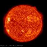 Slunce na snímku z družice SDO. Credit: NASA