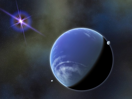 Opravdu velmi chladný hnědý trpaslík WD 0806-661 B v představách malíře. Credit: NASA Goddard Space Flight Center/Francis Reddy