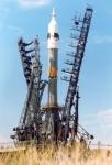 Ruská raketa Sojuz. Zdroj: Wikipedia