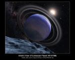 Exoplaneta v představách malíře. Credit: NASA, ESA, and G. Bacon (STScI)