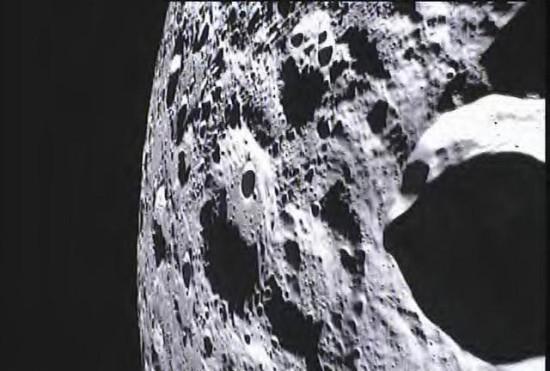 Studentská fotografie Měsíce. Credit: NASA