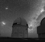 Observatoř Cerro Tololo v Chile. Credit: San Francisco State University.