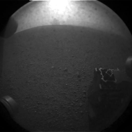 Další snímek z povrchu. Credit: NASA