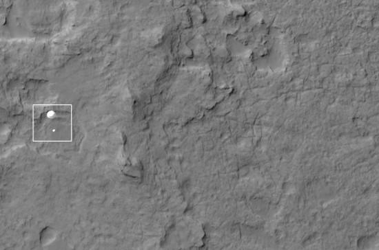 Celkový snímek. Credit: NASA/JPL-Caltech