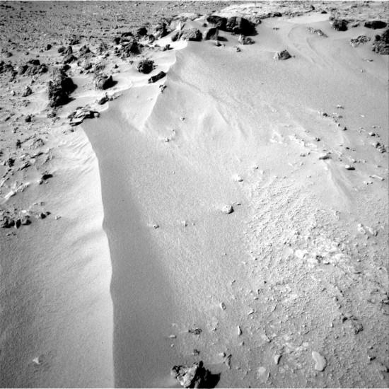 Písečná duna bude předmětem zkoumání v nejbližších dnech.