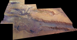 Valles Marineris. Credit: ESA