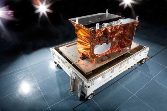 Přístroj VIIRS. Credit: NASA, NOAA