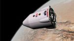 Kosmická loď na oběžné dráze Marsu (kresba), zdroj: flickr.com