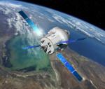 Kresba: servisní modul pro Orion. Credit: ESA