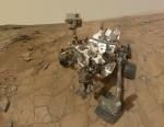 Curiosity na Marsu. Credit: NASA