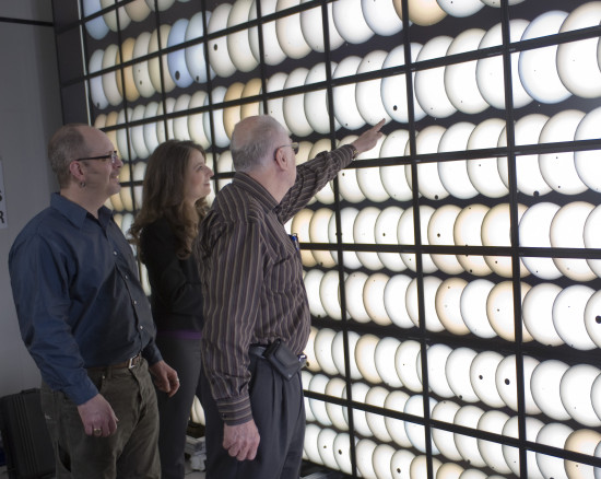 Členové týmu Kepler zleva Jon Jenkins, Natalie Batalha a Bill Borucki. Zdroj: blog.planethunters.org