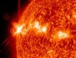 Erupce na Slunci. Credit: NASA