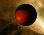 Horký jupiter HD 149026 b v představách malíře. Credit: NASA/JPL-Caltech