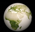 Zelená planeta. Credit: NASA, NOAA
