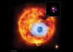 Kosmické dalekohledy NASA pozorovaly tranzity HD 189733b v rentgenové části spektra. Credit: NASA